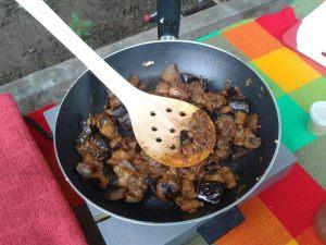 frito de puerco de berenjena